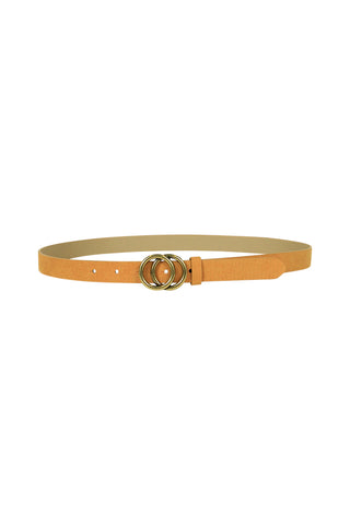 Thin Double Circle Belt