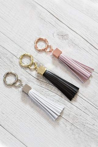 CR Tassel Key Ring