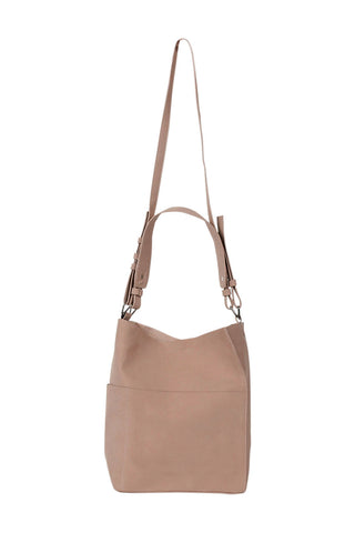 Front Pocket Slouchy Tote Bag