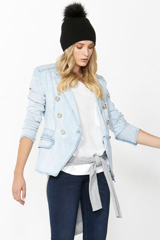 Ellen Denim Blazer