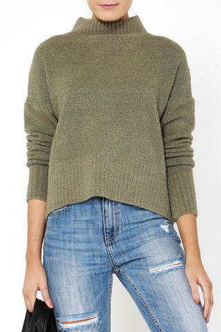 Rose Extended Neck Knit