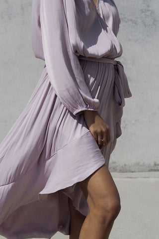 Mirissa Wrap Midi Dress