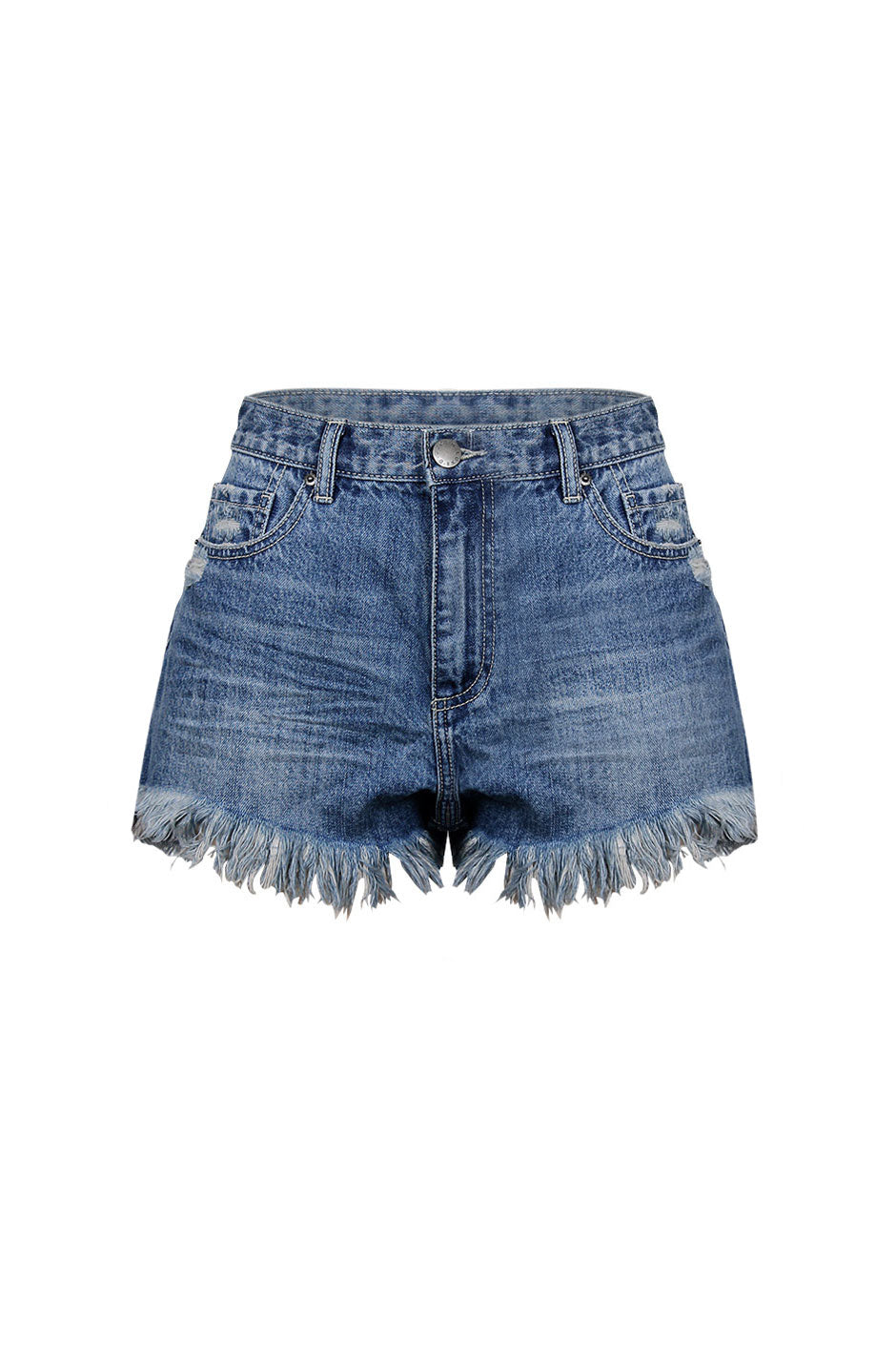bb09d49996 Luxe Raw Hem Denim Short – DECJUBA