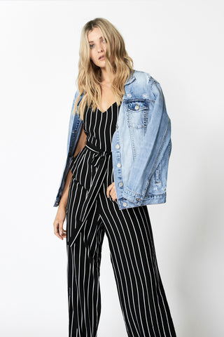Selena Wide Leg Jumpsuit