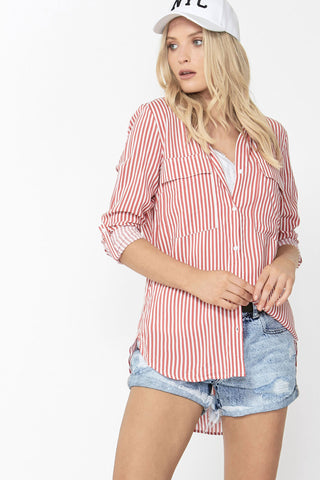 Elle Button Down Shirt
