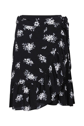 Kayleigh Mini Wrap Skirt