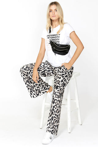 Carolyn Soft Printed Pant