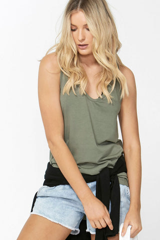 Luxe Racer Back Tank