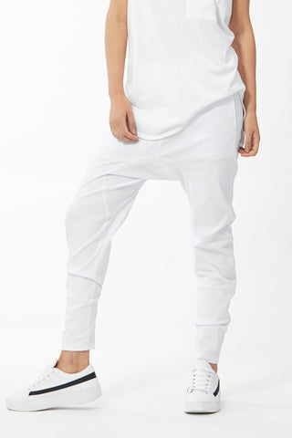 Luxe Twill Drop Crotch Pant
