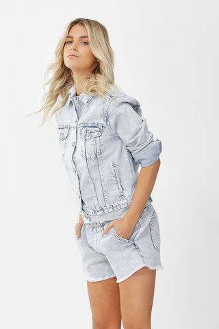 Luxe Boyfriend Denim Jacket