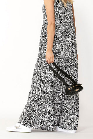 Lara Tie Front Maxi Dress