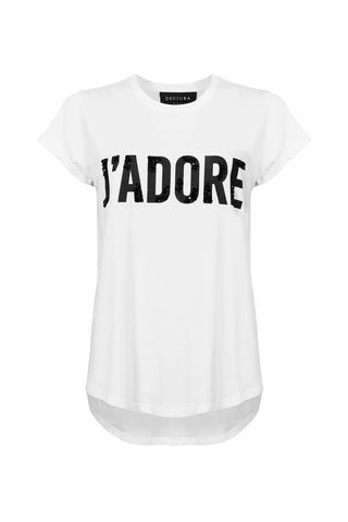 J'adore French Tee