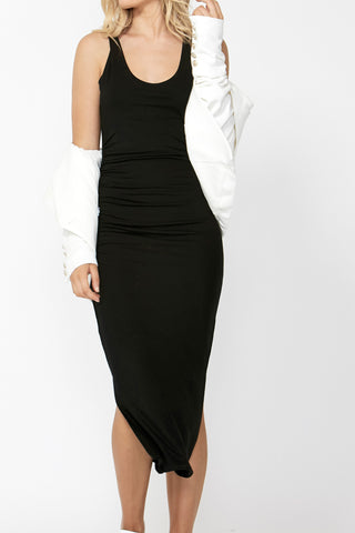 Terri Jersey Scoop Neck Dress