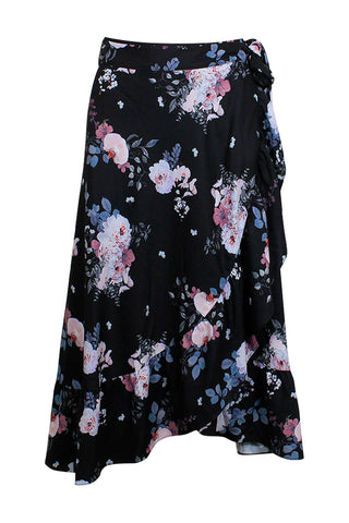Jenna Midi Wrap Skirt