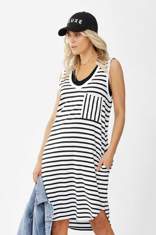 D-Luxe Boyfriend Tank Dress
