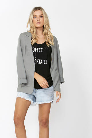 Coffee 'Til Cocktails Tank