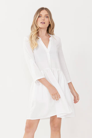 Kym High Low Shirt Dress