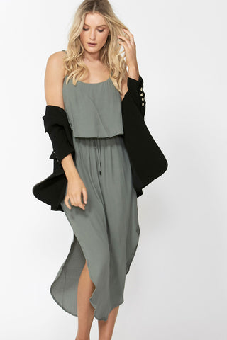 Alice Layered Midi Dress