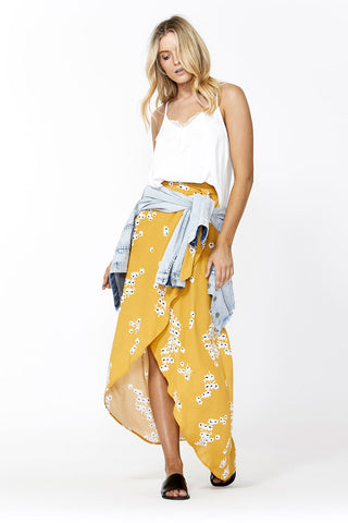 Piper Wrap Maxi Skirt