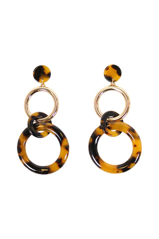 Beth Resin Ring Earrings