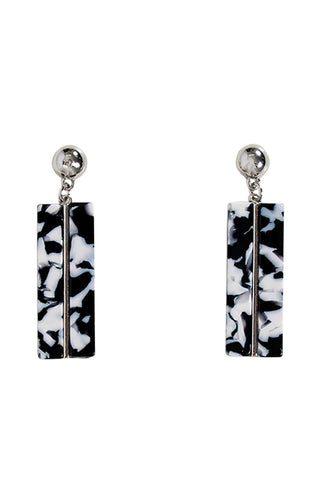 Judith Bar Resin Earrings