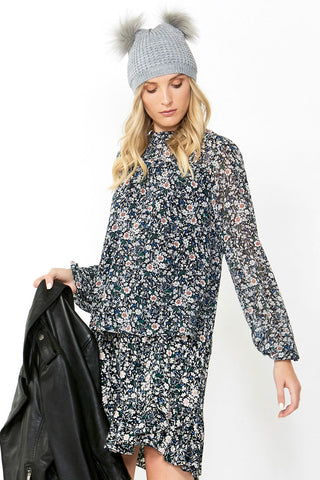 Arabella Printed Blouse