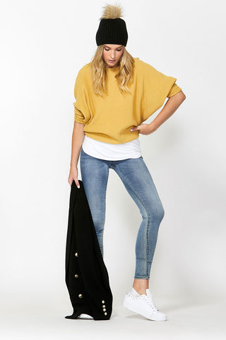 Holly Dolman Sleeve Pullover