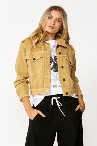 Tegan Denim Utility Jacket
