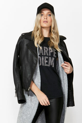 Carpe Diem Studded Tee