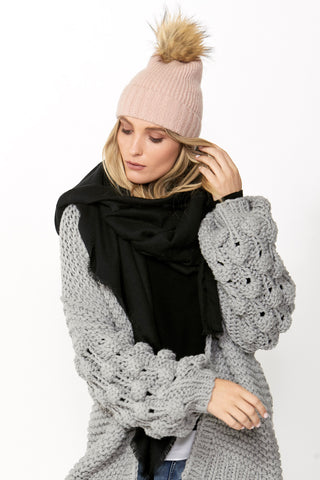 Renee Single Pom Beanie
