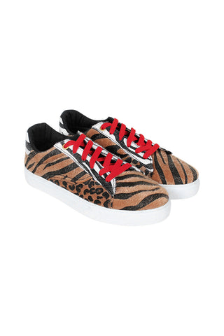 Animal Patchwork Sneaker
