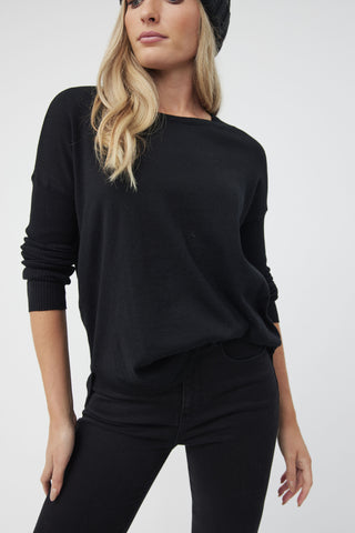 Candice Drop Shoulder Pullover