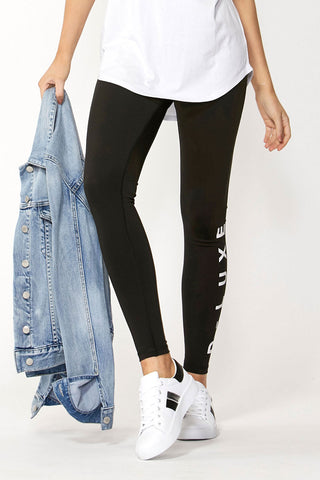 Luxe Logo Full Length Legging