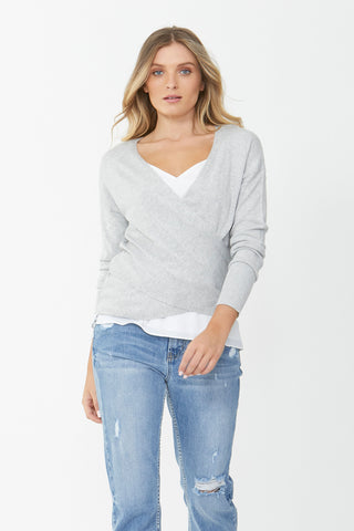 Rosie Cross Front Knit