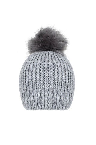 Paige Single Pom Beanie