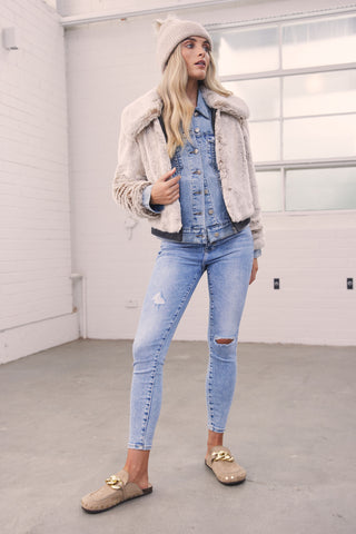 Montana Faux Fur Jacket