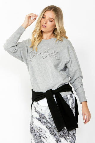 Ciao Embellished Sweat