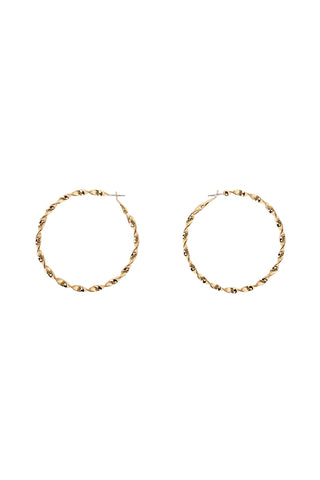 Maria Twisted Hoops