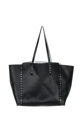 Reversible Studded Tote Bag
