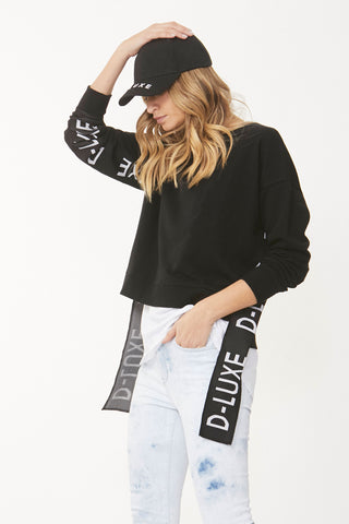 Luxe Logo Tape Sweat