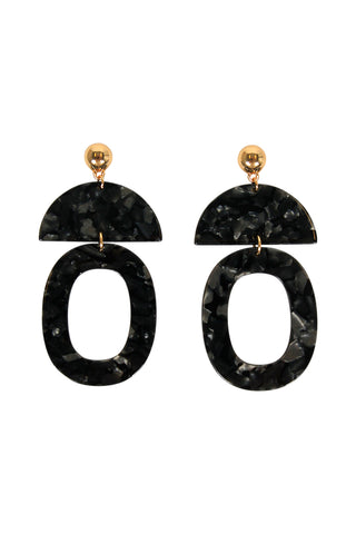 Maya Resin Mutli Earrings