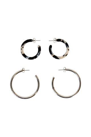 Alexis Resin Metal 2 Hoop Pack
