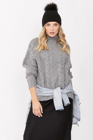 Quinn Cable Stitch Chunky Knit