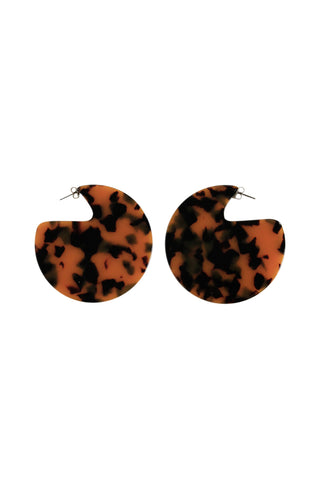 Maddie Resin Disc Earrings