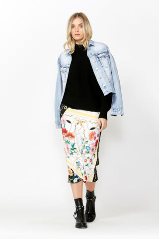 Bridget Printed Midi Skirt