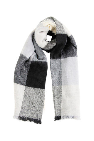 Frayed Edge Woven Scarf