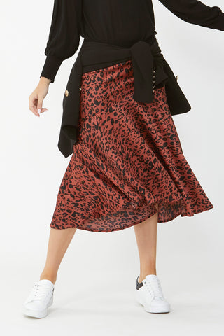 Kaya Seam Detail Skirt