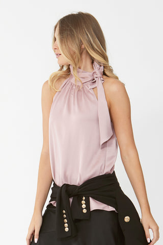 Melissa Tie Neck Top