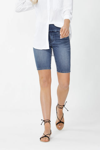 Riley Denim Bike Short
