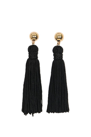 Alexa Detailed Tassel Earrings